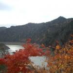 豊平峡の紅葉